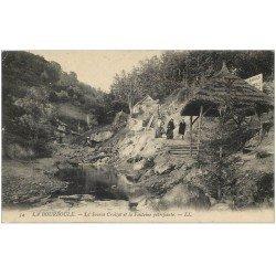 63 LA BOURBOULE. Lot de 10 Cpa. Source Croizat Fontaine pétrifiante, Loue aux Anes, Cascade, Touring Hôtel, Funiculaire