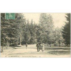 carte postale ancienne 63 LA BOURBOULE. Parc Fenestre vers 1911