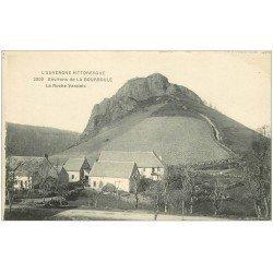 carte postale ancienne 63 LA ROCHE VENDEIX