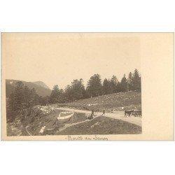 carte postale ancienne 63 LE MONT DORE. Route de Sancy. Prototype pour future Carte Postale.