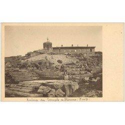 carte postale ancienne 63 LE MONT DORE. Temple de Mercure. Prototype pour future Carte Postale.