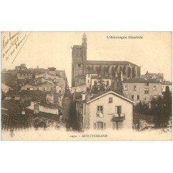 carte postale ancienne 63 MONTFERRAND 1919
