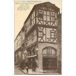 carte postale ancienne 63 MONTFERRAND. Maison Apothicaire et Café du Comptoir Gelin