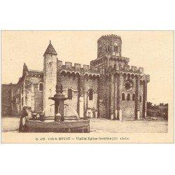 carte postale ancienne 63 ROYAT Lot 10 Cpa. Eglise et Fontaine, Source Eugénie, Sanatorium, Paradis...