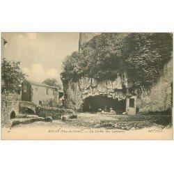 carte postale ancienne 63 ROYAT. Grotte des Laveuses