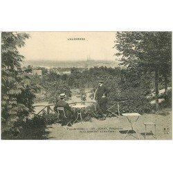 carte postale ancienne 63 ROYAT. Panorama de Clermont vu du Parc