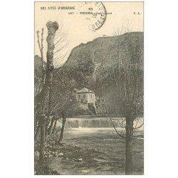 carte postale ancienne 63 THIERS. Recoupland déversoir 1918