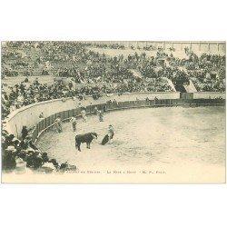 carte postale ancienne 34 BEZIERS. Arènes Corrida. Mise à Mort vers 1900