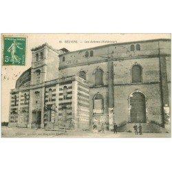 carte postale ancienne 34 BEZIERS. Arènes vers 1915