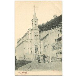 carte postale ancienne 34 BEZIERS. Eglise Saint-Jude