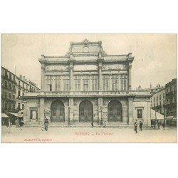 carte postale ancienne 34 BEZIERS. Théâtre 1916