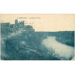 carte postale ancienne 34 BEZIERS. Vallée Orb 1925