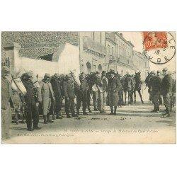 carte postale ancienne 34 FRONTIGNAN. Muletiers Quai Voltaire 1916