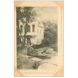 carte postale ancienne 34 LAMALOU-LE-HAUT. Source Petit Vichy vers 1900