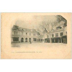 carte postale ancienne 34 LAMALOU-LES-BAINS. Casino vers 1900
