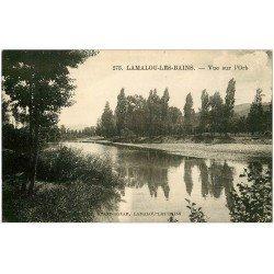 carte postale ancienne 34 LAMALOU-LES-BAINS. L'Orb 1923