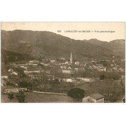 carte postale ancienne 34 LAMALOU-LES-BAINS. Vue 1935
