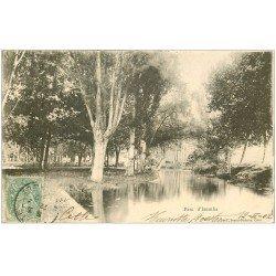 carte postale ancienne 34 Le Parc d'Issanka 1902. Près Cette