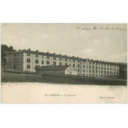 carte postale ancienne 34 LODEVE. La Caserne 1917