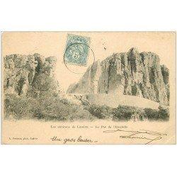 carte postale ancienne 34 LODEVE. Le Pas de l'Escalette 1905