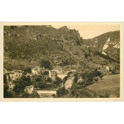 carte postale ancienne 34 MADIERES. Gorges de la Vis 1935