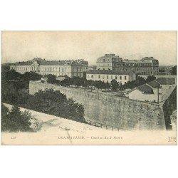 carte postale ancienne 34 MONTPELLIER. Caserne Génie 1919