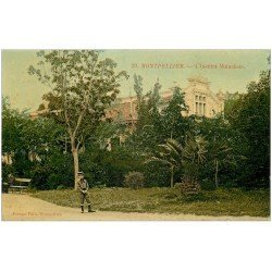 carte postale ancienne 34 MONTPELLIER. Institut Mutualiste