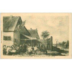 carte postale ancienne 34 MONTPELLIER. Kermesse par Téniers. Timbre absent 1924