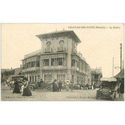 carte postale ancienne 34 PALAVAS-LES-FLOTS. Le Casino superbes voitures anciennes