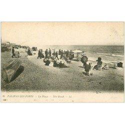 carte postale ancienne 34 PALAVAS-LES-FLOTS. Plage n°11