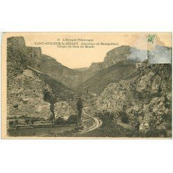 carte postale ancienne 34 SAINT-GUILHEM-LE-DESERT. Cirque Bout du Monde