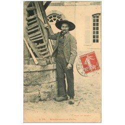 carte postale ancienne 03 BOURBONNAIS. Au Puits 1908