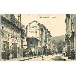 carte postale ancienne 34 SAINT-PONS. Grand'Rue. Librairie Cartes Postales