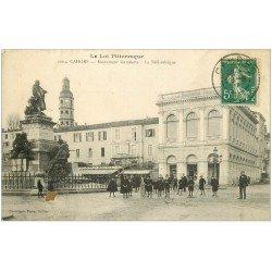 carte postale ancienne 46 CAHORS. Bibliothèque 1915