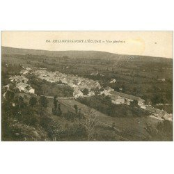 carte postale ancienne 01 Collonges-Fort-l'Ecluse. Vue générale