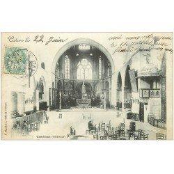 carte postale ancienne 46 CAHORS. La Cathédrale 1904