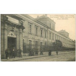 carte postale ancienne 46 CAHORS. Lycée Gambetta devenu Hôpital Temporaire. Guerre 1914-1918