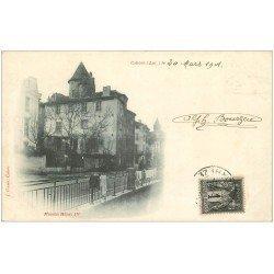 carte postale ancienne 46 CAHORS. Maison Henri IV 1901