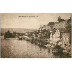 carte postale ancienne 46 CAPDENAC. Rives du Lot