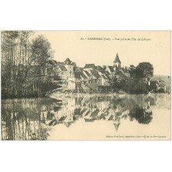 carte postale ancienne 46 CARENNAC. Vue de l'Ile de Calypso