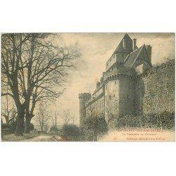 carte postale ancienne 46 CASTELNAU-BRETENOUX. Château Terrasse