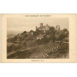 carte postale ancienne 46 CASTELNAU-BRETENOUX. Châteaux de France