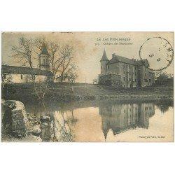 carte postale ancienne 46 CHATEAU DE BESSONNIES 1923