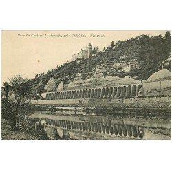 carte postale ancienne 46 CHATEAU DE MERCUES