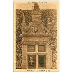 carte postale ancienne 46 CHATEAU DE MONTAL. Lucarne