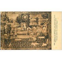 carte postale ancienne 46 CHATEAU DE MONTAL. Tapisserie Gombaut et Macé