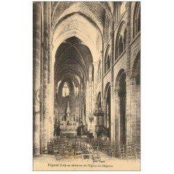 carte postale ancienne 46 FIGEAC. Eglise du Chapître