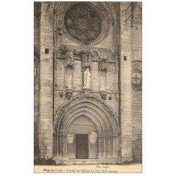 carte postale ancienne 46 FIGEAC. Eglise du Puy Portail