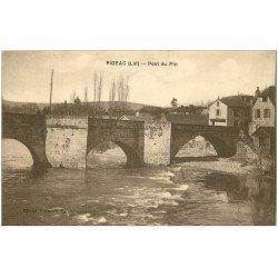 carte postale ancienne 46 FIGEAC. Pont du Pin