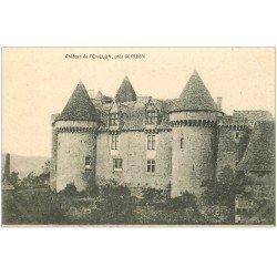 carte postale ancienne 46 GOURDON. Château de Fénélon